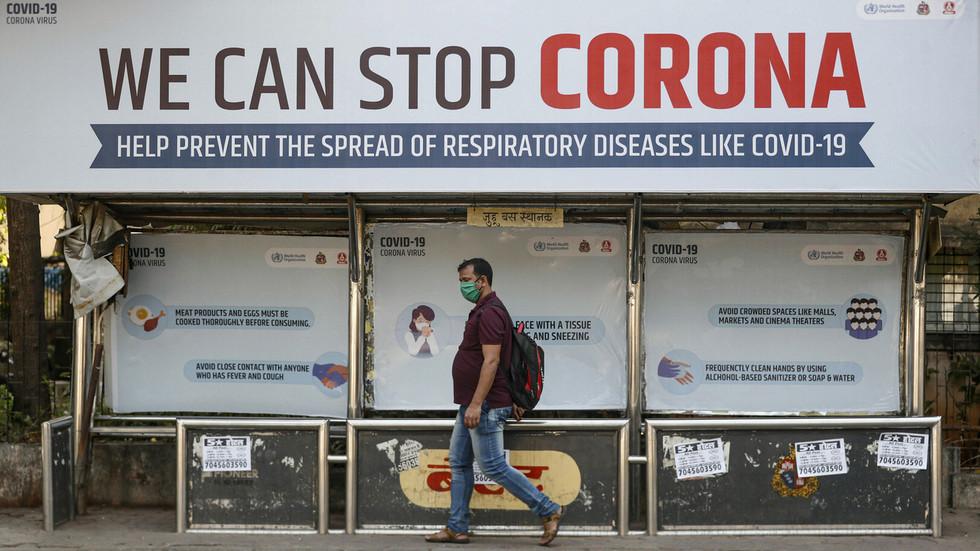 'Stay indoors & healthy': India holds nationwide coronavirus 'self-curfew' drill