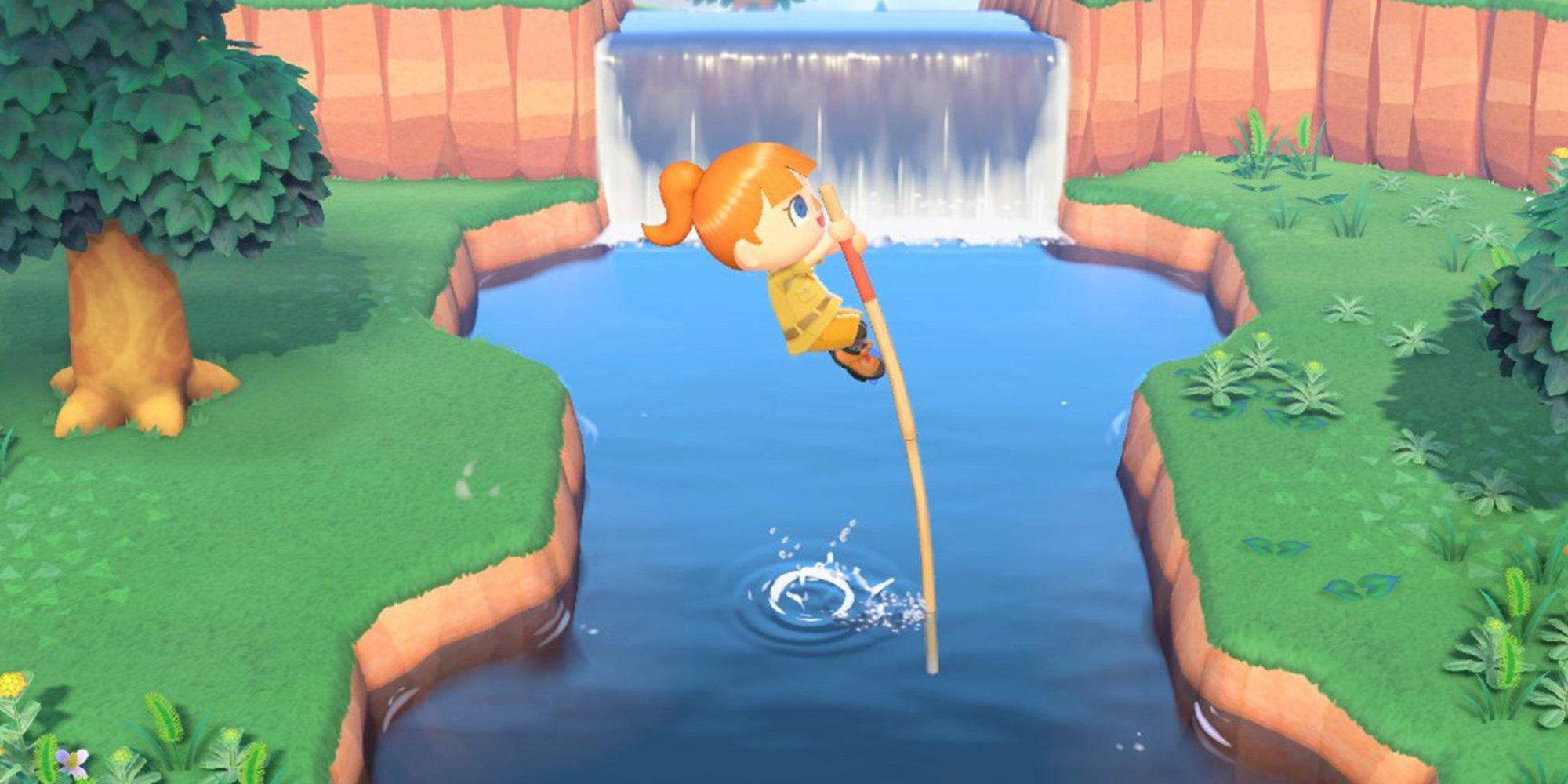 Animal Crossing New Horizons: How To Unlock The Vaulting Pole Merchandise