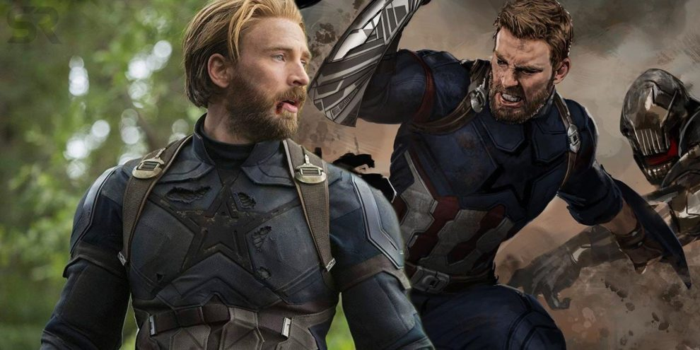 Captain America's Unused Infinity War Shield Becomes A Weapon In Art