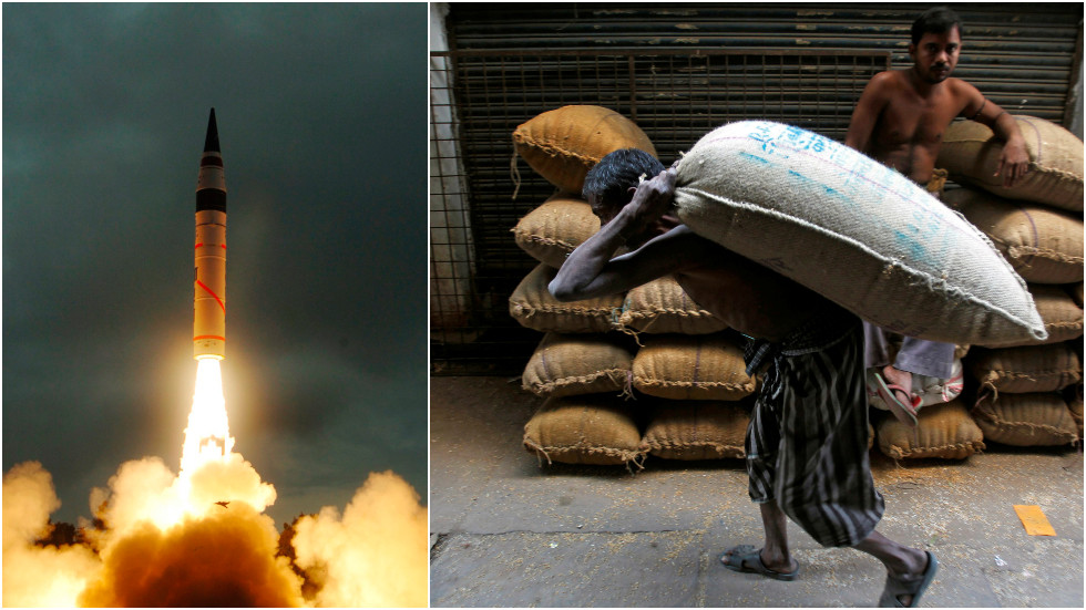 Even 'small-scale' nuclear war between India & Pakistan would DEVASTATE global food supply – study