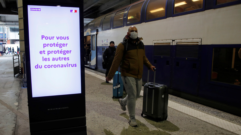 France bans gatherings of over 100 people as government battles to stem coronavirus outbreak