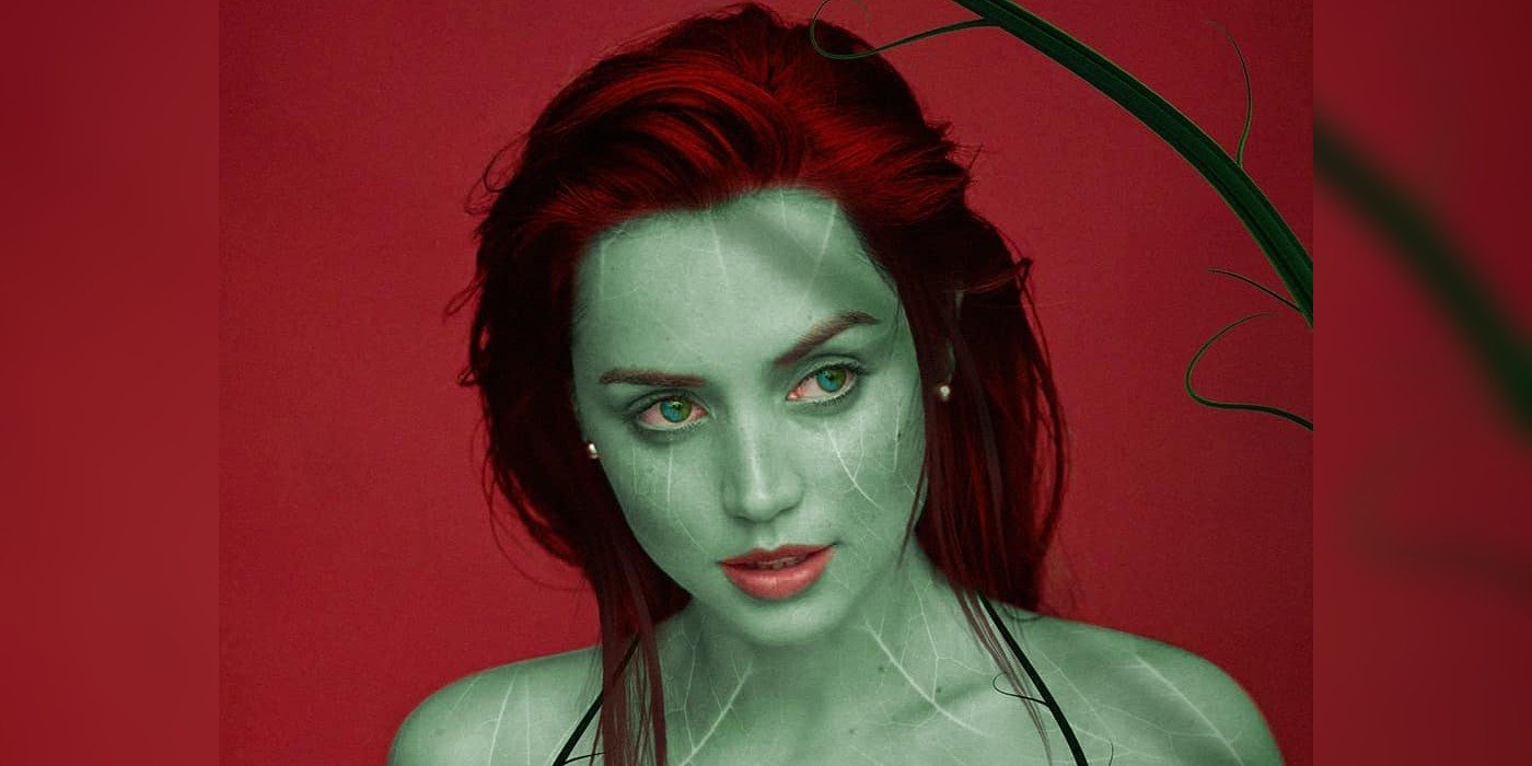 Right here's What Ana de Armas May Look Like As Poison Ivy In The DCEU