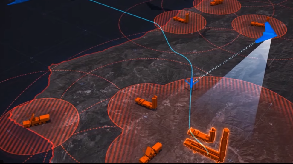 Lockheed Martin promo simulates PREEMPTIVE STRIKES on Russian ICBM & S-400s… using CGI tech
