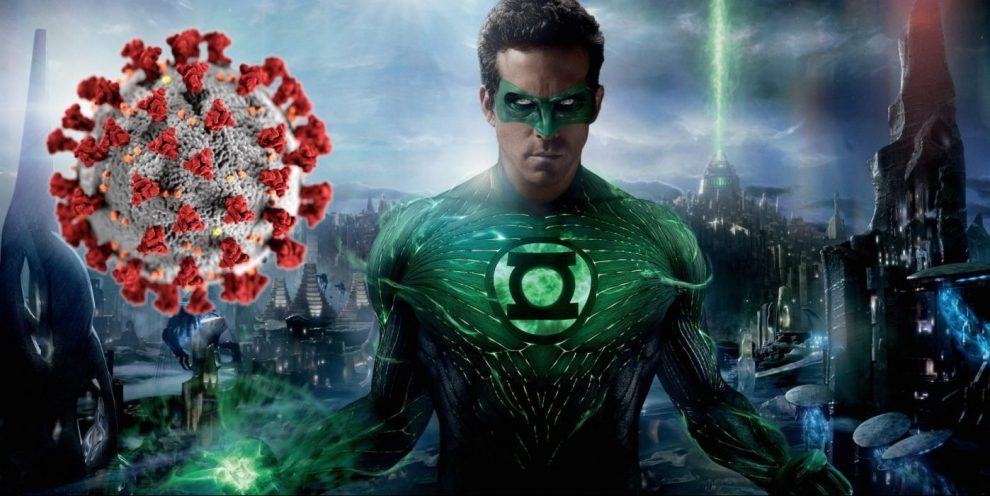 Ryan Reynolds Makes Green Lantern Coronavirus Warning For St. Patrick's
