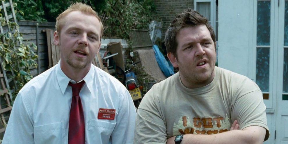 Simon Pegg & Nick Frost Recreate Shaun of the Dead Scene For Coronavirus Pandemic