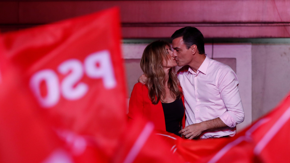 Spanish PM's wife tests positive for Covid-19 after Madrid imposes national lockdown to tackle the disease