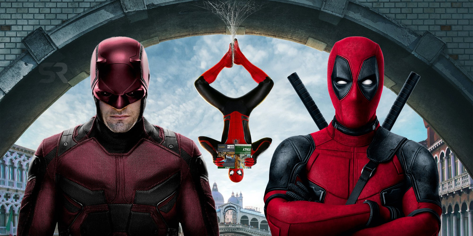 Spider-Man Three Fan Poster Options Deadpool and Daredevil Becoming a member of The MCU