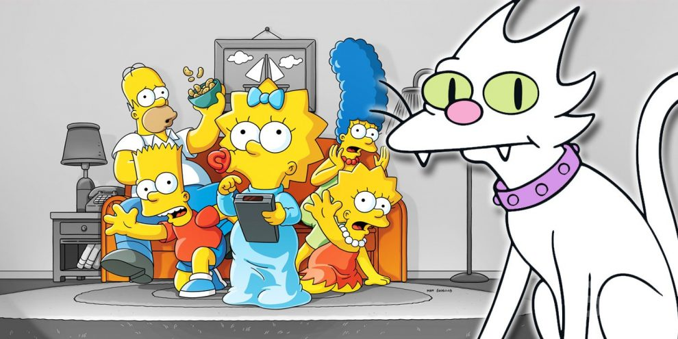 The Simpsons: What Happened To The Original Cat Snowball