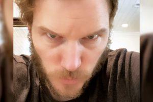Chris Pratt Sports Wolverine Beard in Quarantine Selfie