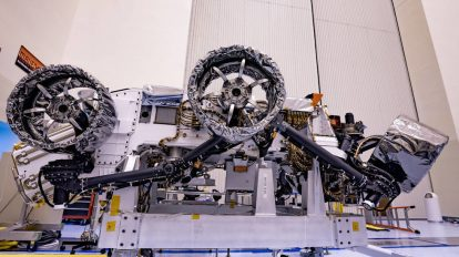 Mars Perseverance rover kitted out with new wheels & brakes as mission looms (PHOTOS)