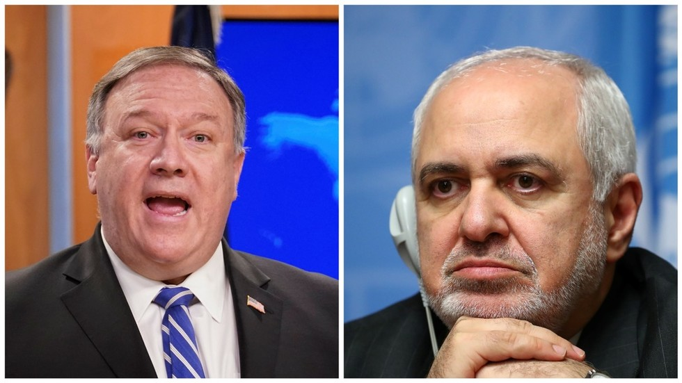 'You grasp gays & stone ladies!' Pompeo awkwardly fights again as Iran's Zarif speaks out towards racism amid George Floyd riots