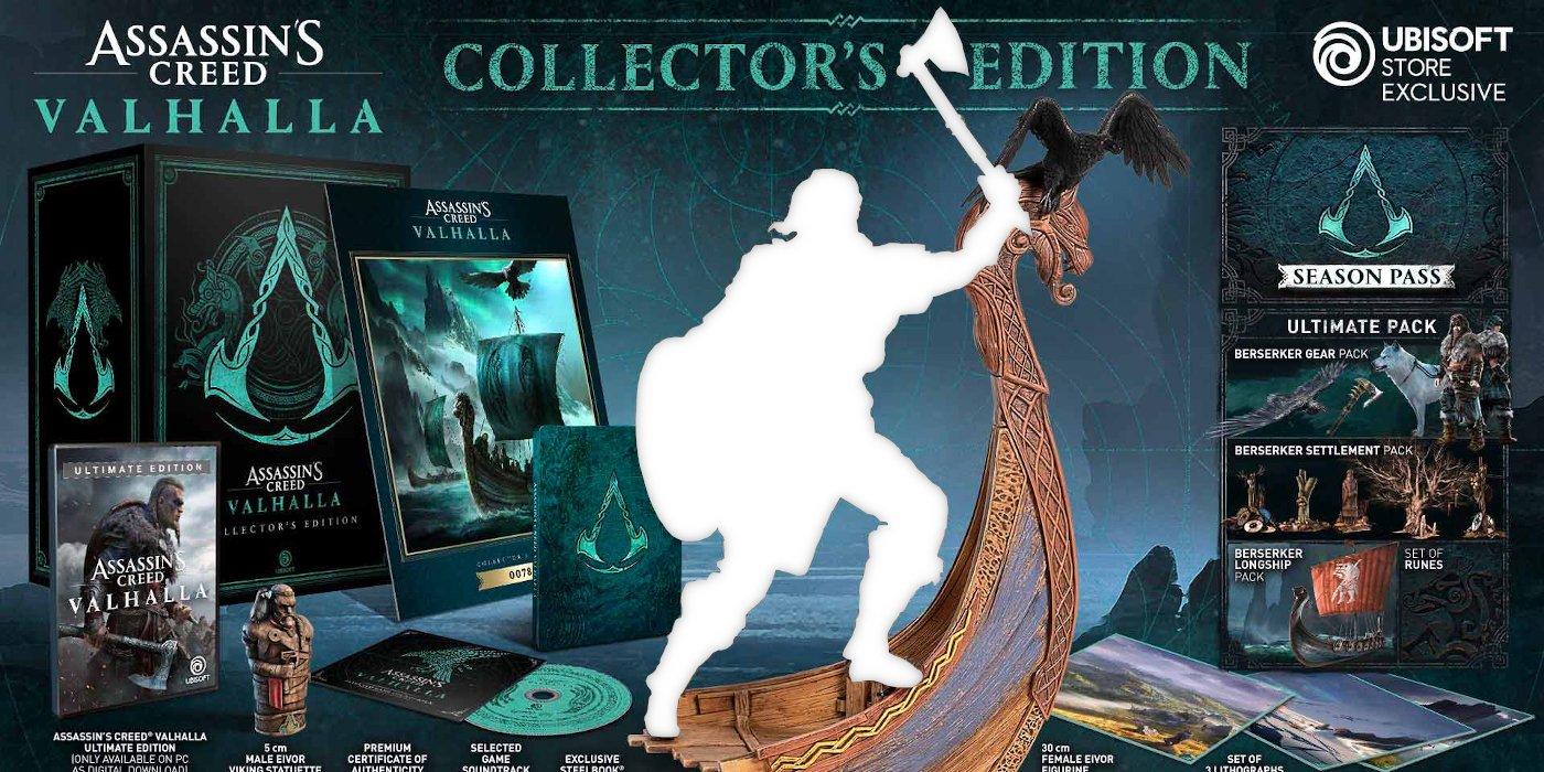 Murderer's Creed Valhalla Feminine Eivor Revealed By Collector Statue