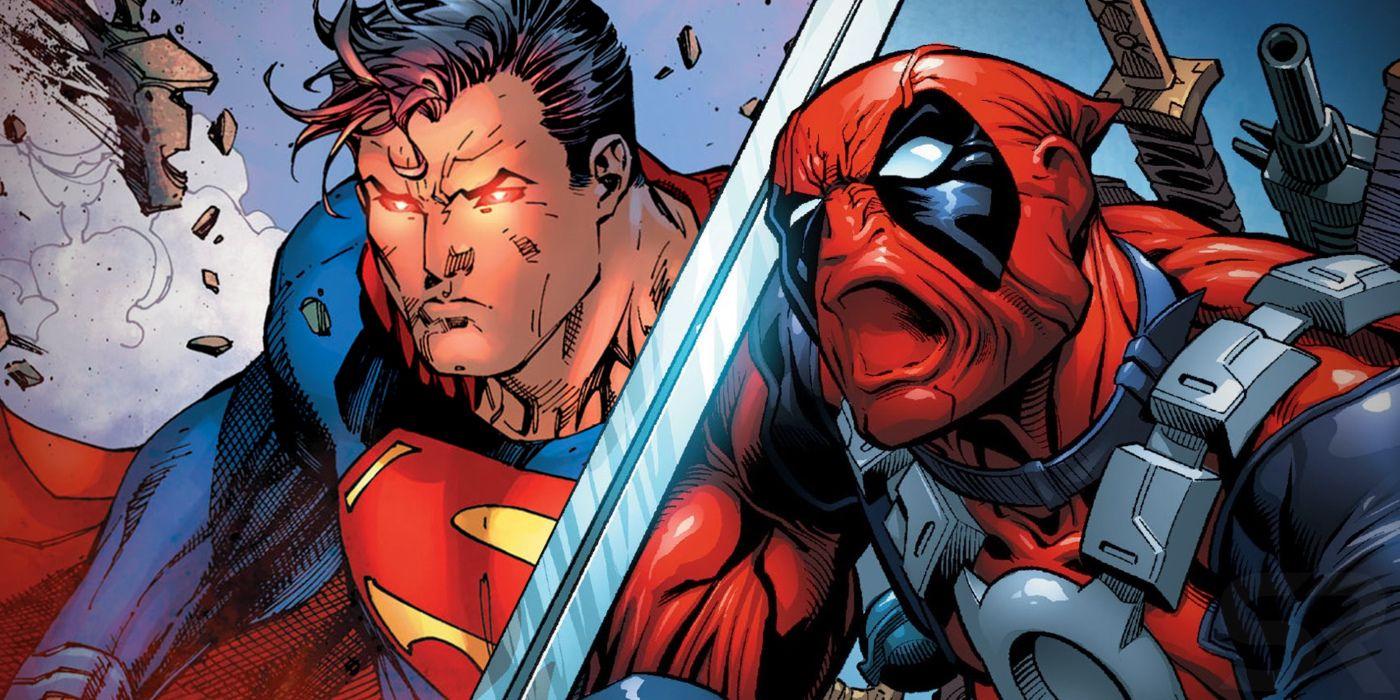 Superman Beats Deadpool With The Most META Comedian Joke