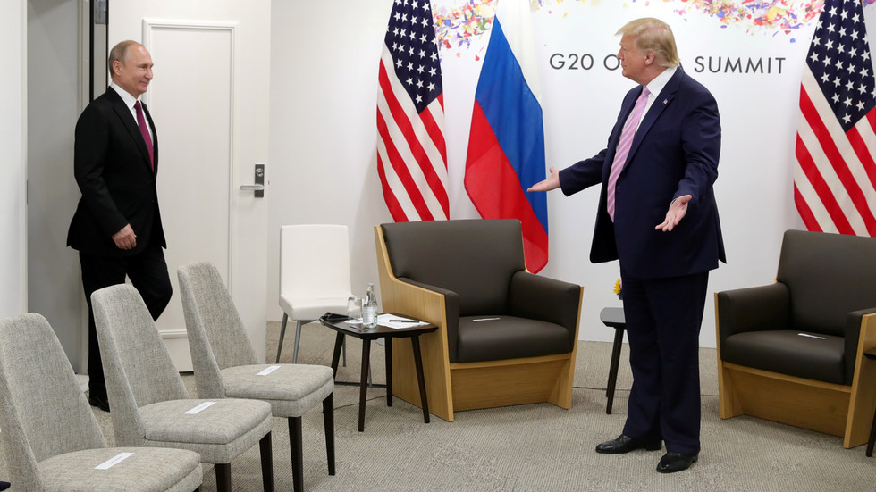 Putin & Trump discuss Russia's attainable participation in G7 summit throughout telephone name