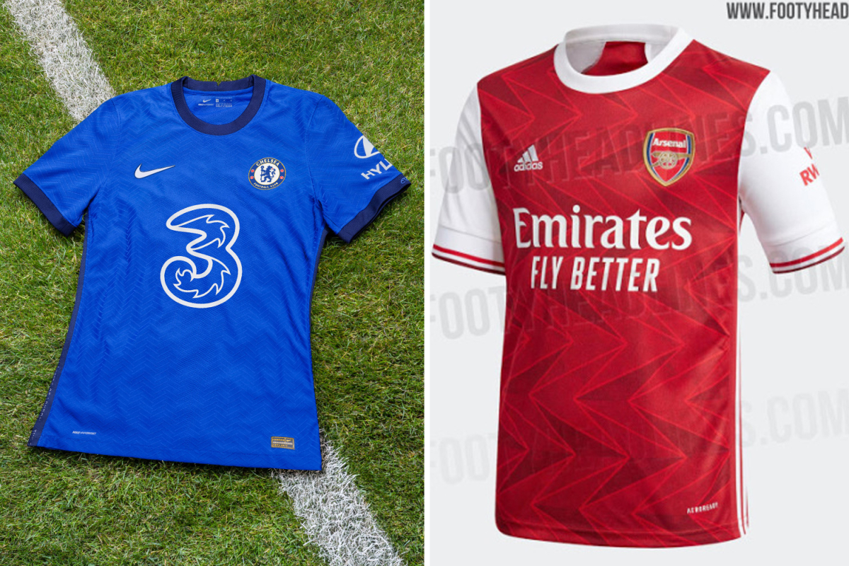 Premier League kits 2020/21: What has been leaked, when are they released, and will they be worn this season?
