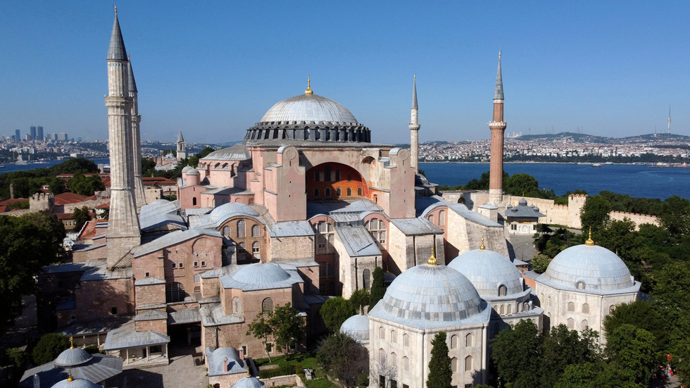 Turkish president Erdogan signs decree turning Istanbul's Hagia Sofia into a mosque after court ruling