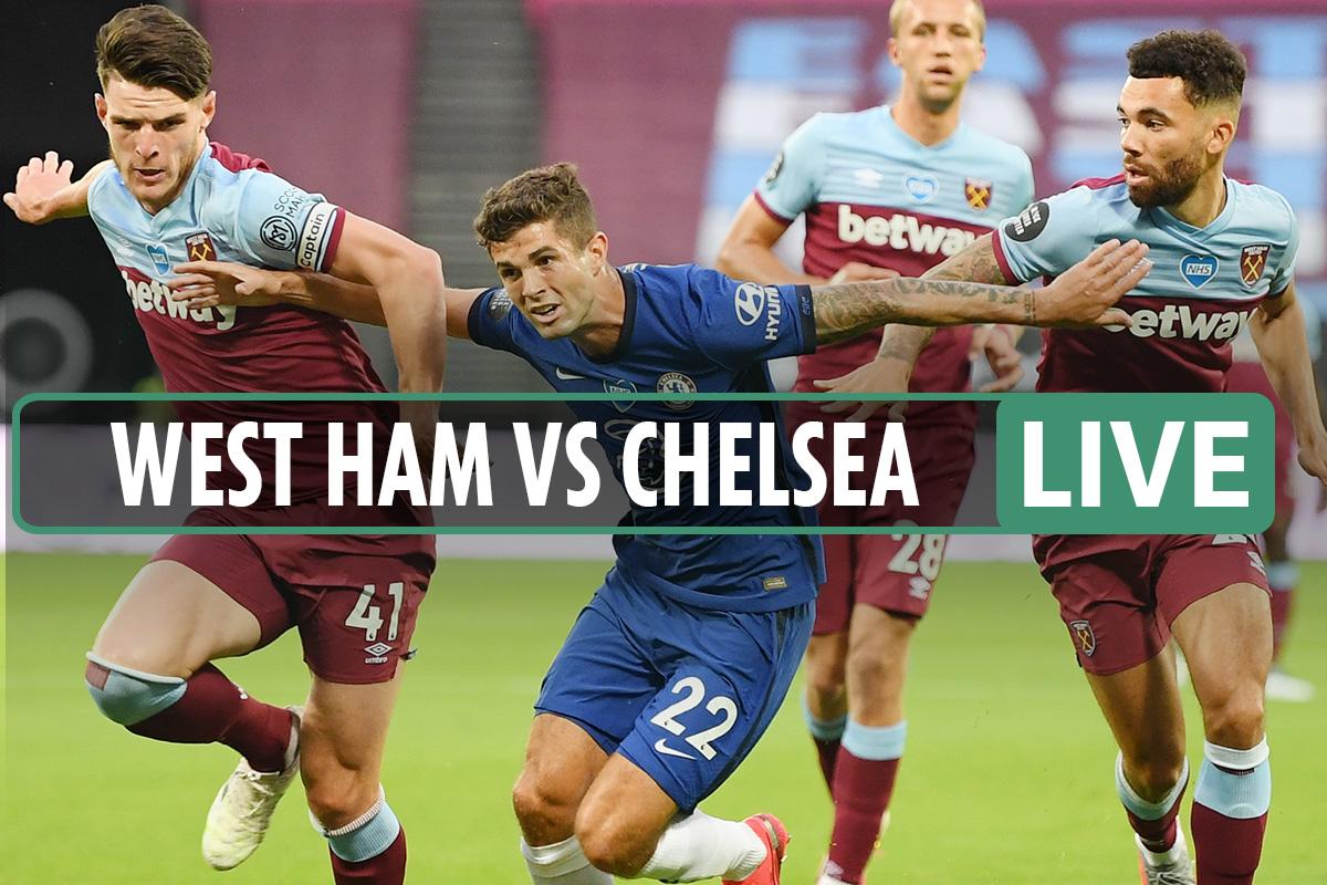West Ham vs Chelsea LIVE SCORE: Soucek stuns Blues with crucial goal – stream, TV channel, Premier League latest updates