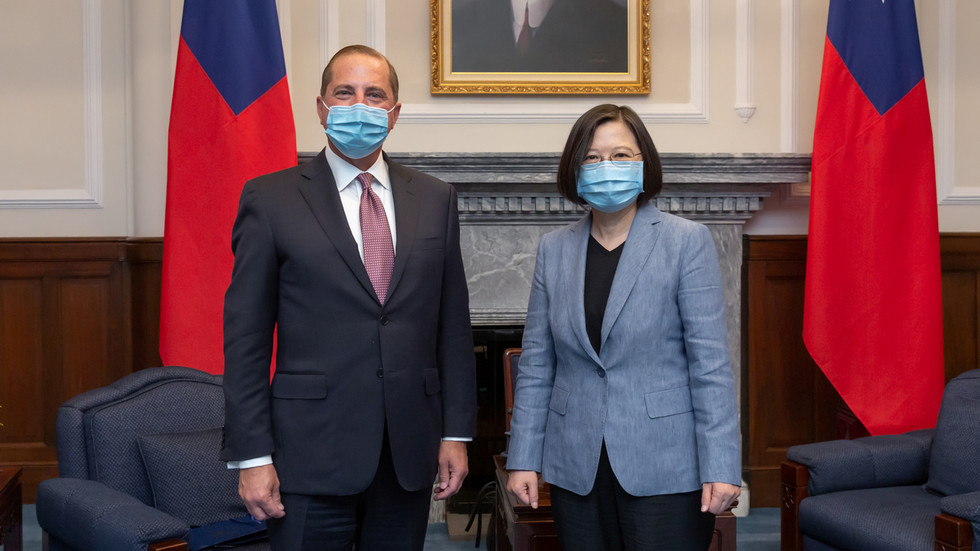 'Those who play with fire will get burned': Beijing warns Washington after US health chief's visit to Taiwan