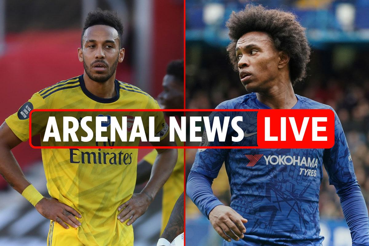 11.45am Arsenal transfer news LIVE: Aubameyang future, Coutinho for Guendouzi, Willian LATEST, fans celebrate FA Cup win