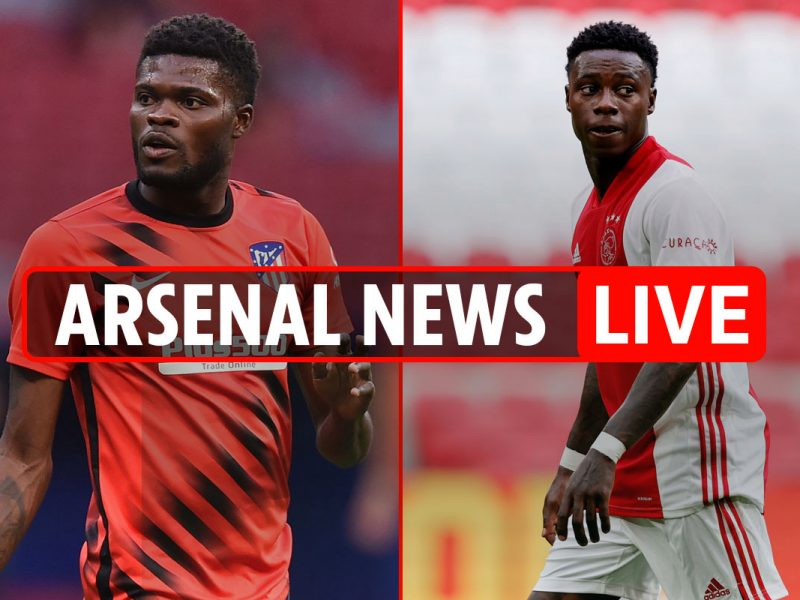 9pm Arsenal switch information LIVE: Partey 'to earn over £200,000-a-week', Quincy Promes £25m curiosity, Willian LATEST