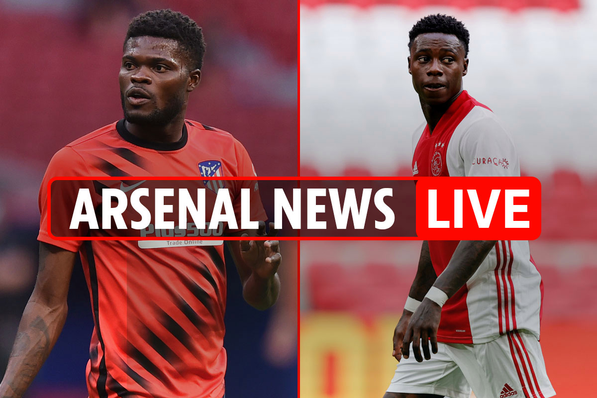 9pm Arsenal transfer news LIVE: Partey 'to earn over £200,000-a-week', Quincy Promes £25m interest, Willian LATEST
