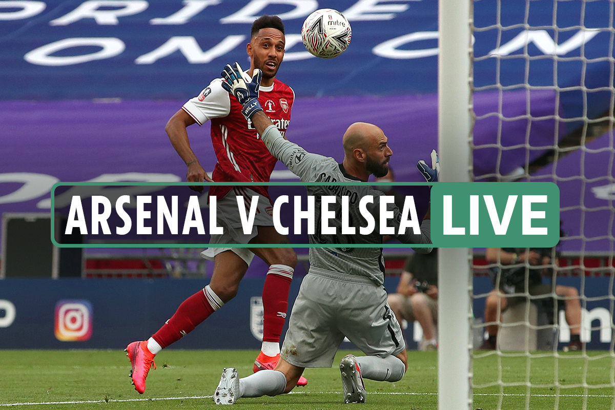 Arsenal vs Chelsea – FA Cup final LIVE RESULT: Gunners into Europe after Aubameyang on the DOUBLE- latest reaction