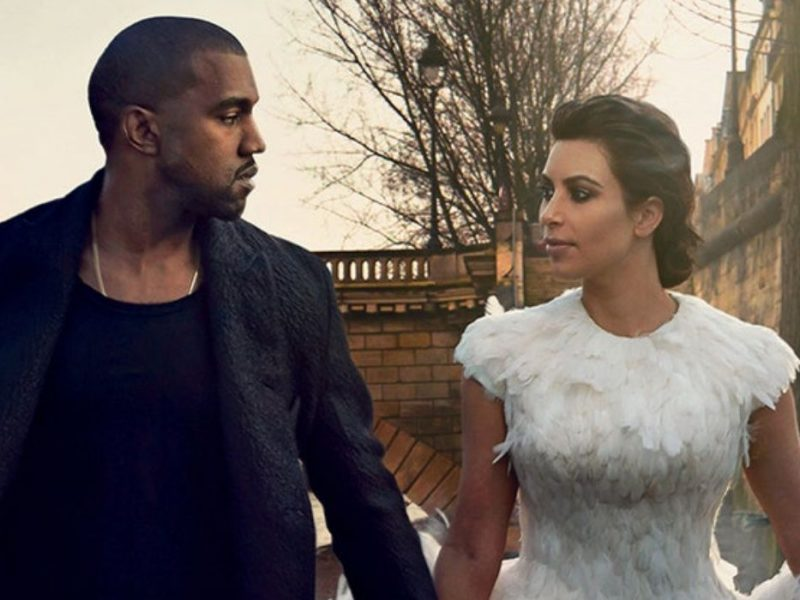 Kim & Kanye Are Allegedly Hiding Out Collectively At A Tropical Location