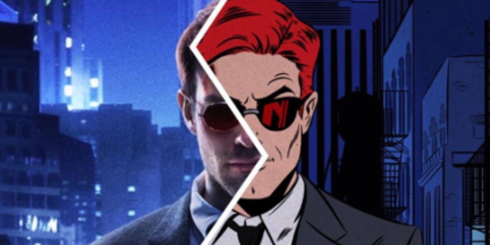 Netflix's Daredevil Poster As Marvel Comic Book Art Is Stunning
