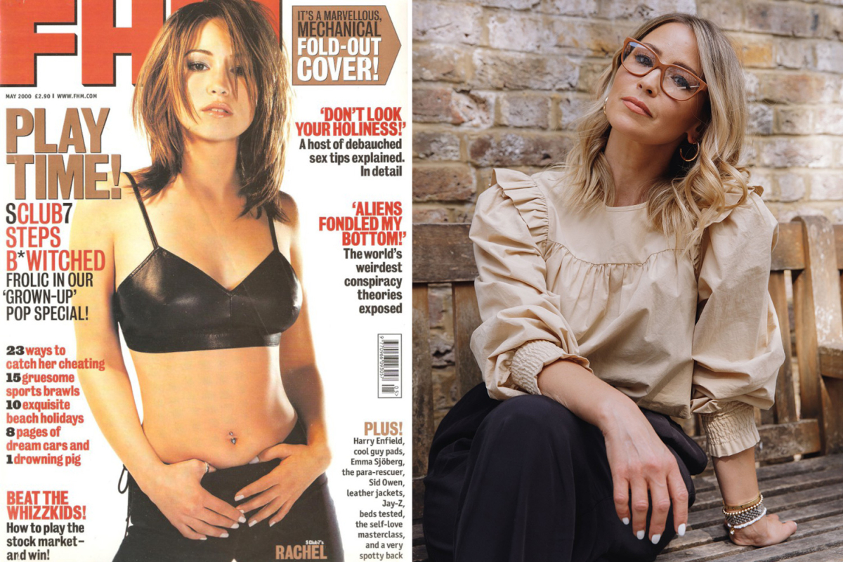 S Club 7 star Rachel Stevens, 42, has no regrets over lads' mags pictures