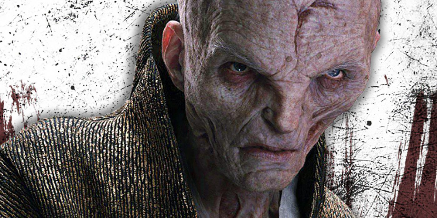Star Wars: Snoke Was Originally Going To Be A Woman | Screen Rant