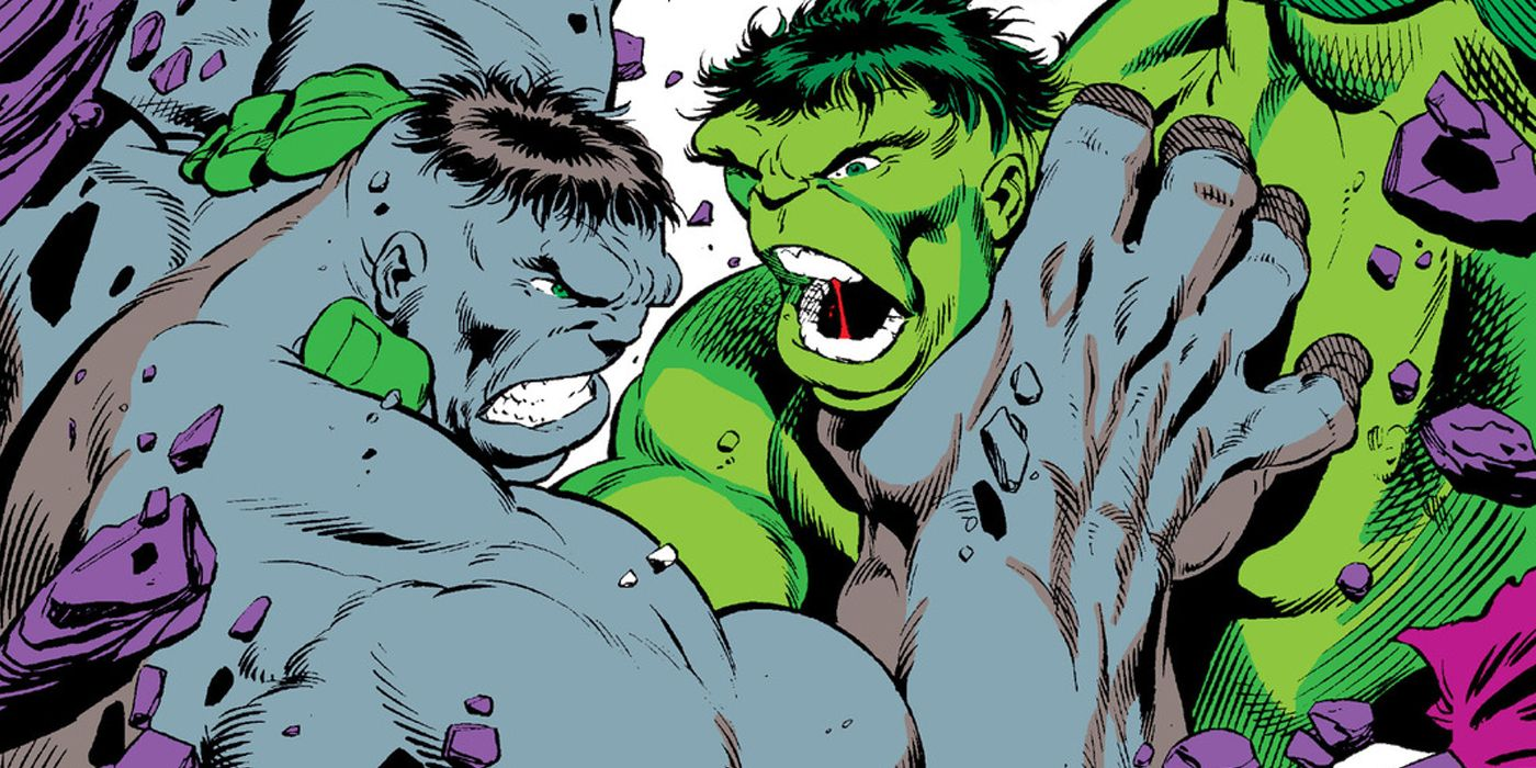 Yes, The Hulk Was Originally GREY in Marvel Comics | Screen Rant