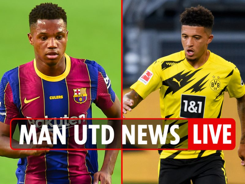 9pm Man Utd switch information LIVE: Ansu Fati backup to Sancho, Ousmane Dembele 'Plan D', Alex Telles LATEST