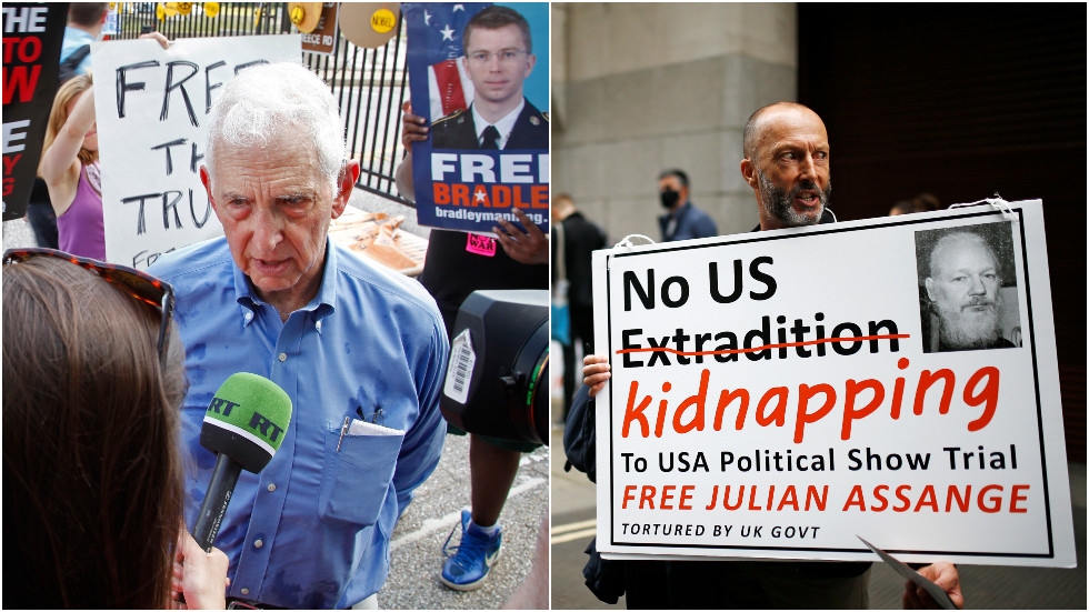 Pentagon Papers leaker Daniel Ellsberg testifies in Assange's defense, says WikiLeaks exposed 'war crimes' in 'public interest'