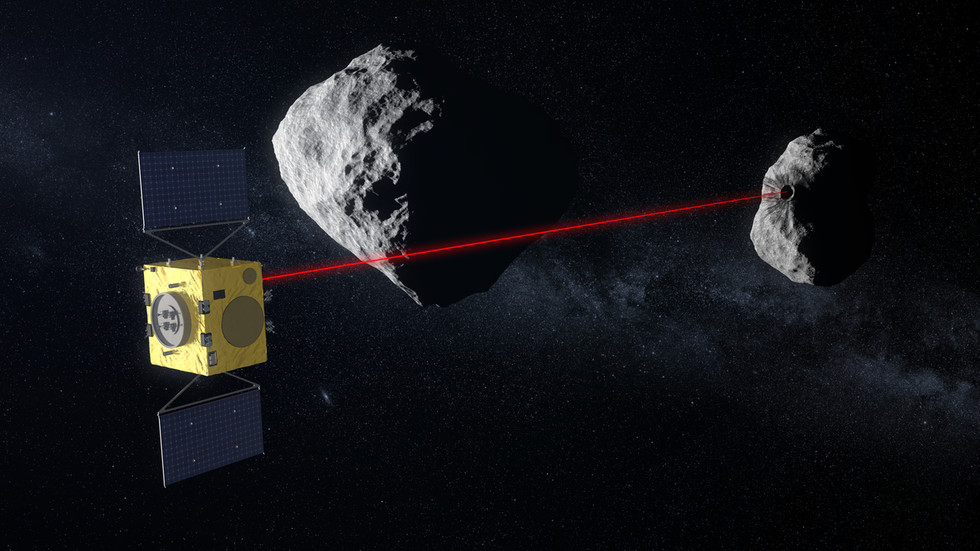 Planetary defense: ESA awards €129 million contract to German satellite maker for 'Hera' ANTI-ASTEROID system