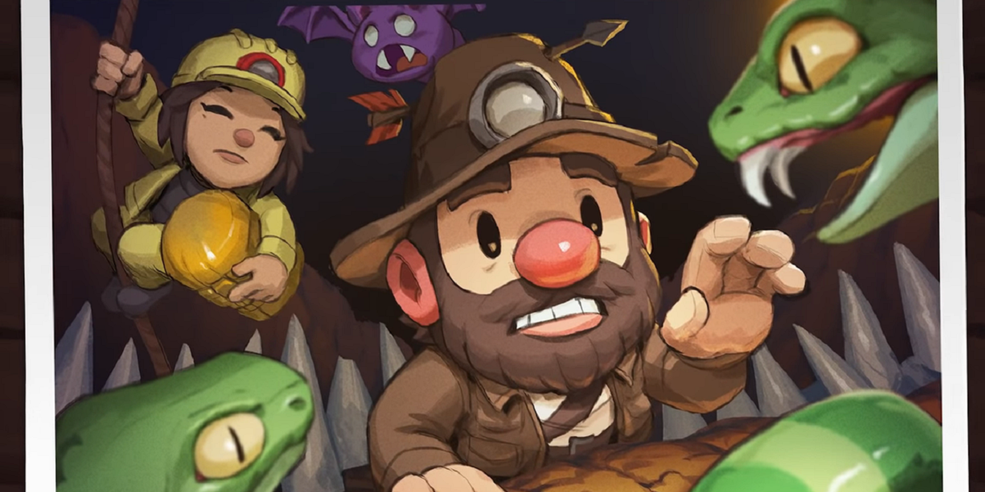 Spelunky 2 PS4 Launch Trailer Prepares You To Dive In 12 Years Later