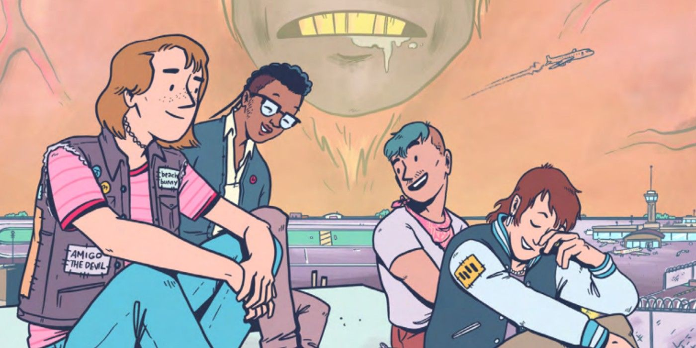 Terminal Punks #1 Advanced Review: Punk Rock Vs. Vape Ape