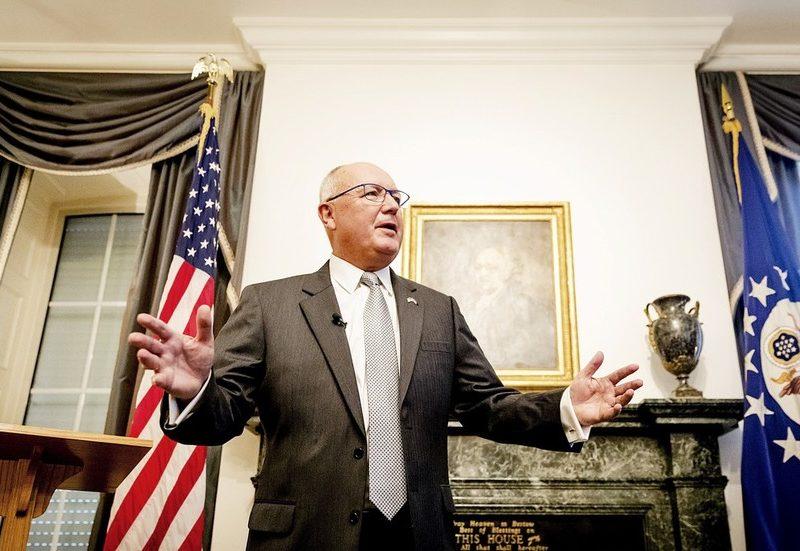 US envoy to Netherlands accused of ELECTION MEDDLING after internet hosting 'fundraiser' for right-wing celebration at embassy