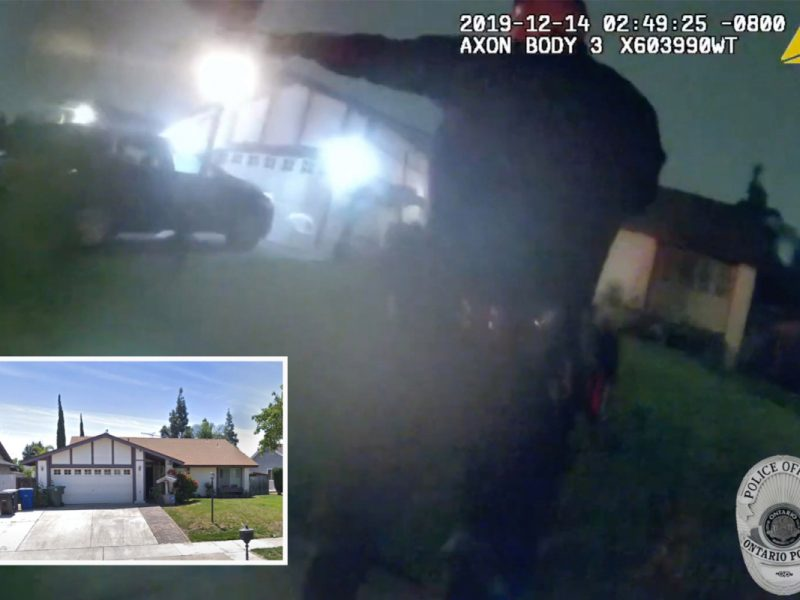 Unseen bodycam footage reveals feminine probation taking pictures at husband earlier than killing their youngsters and herself after standoff