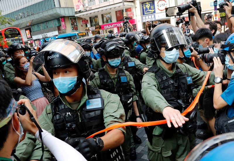 US sanctions six Hong Kong officers over their alleged function in safety legislation arrests