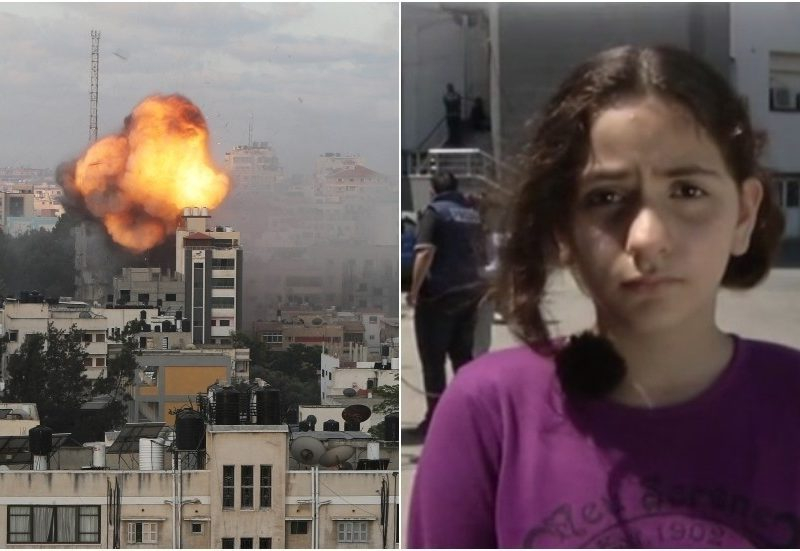 'Nobody's secure in Palestine': 10yo Gaza woman whose heart-rending clip went viral tells of 'unhappy' life underneath Israeli missile assaults
