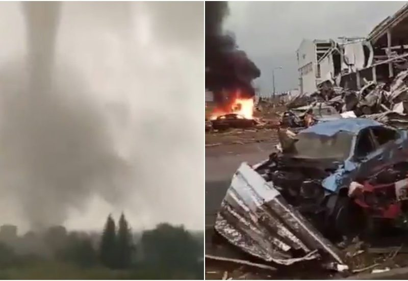 Lots of injured, villages DESTROYED as robust twister rips via Czech Republic cities (VIDEOS)