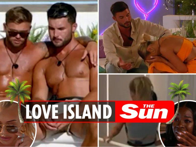 Love Island carnage as most emotional episode but sees FIVE Islanders break down in tears in dramatic scenes