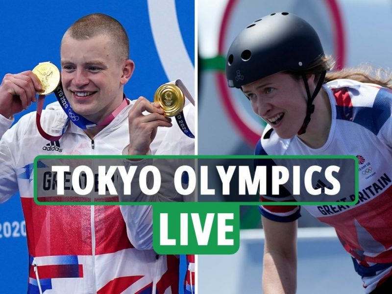 Tokyo Olympics LIVE RESULTS: Peaty goes for golden TREBLE, Charlotte Worthington wins BMX gold – Day 9 newest updates