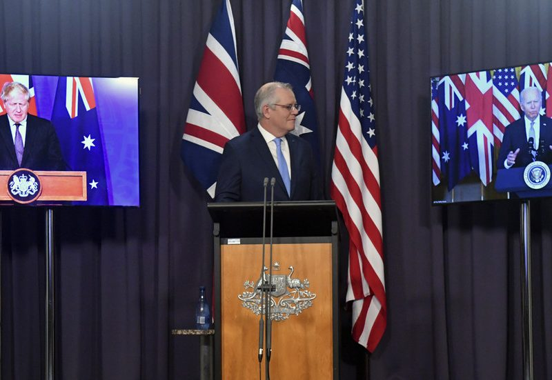 Malaysian PM says AUKUS might be 'catalyst for nuclear arms race' as ex-diplomat warns Australia is now 'remoted' in area